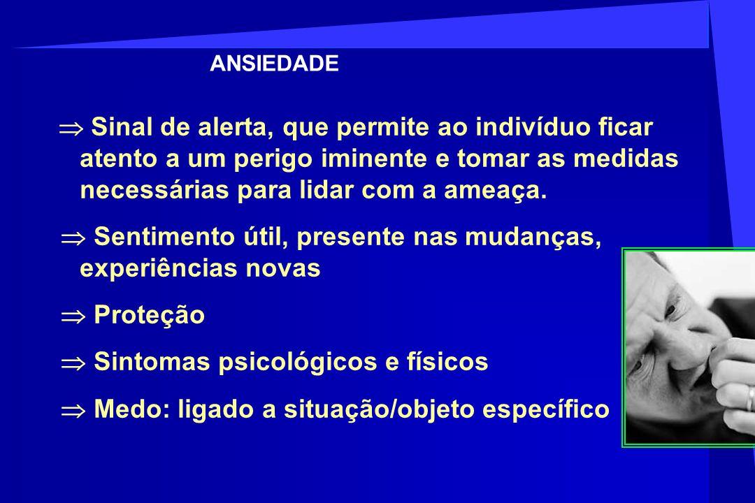 Ansiedade Normal x Ansiedade Patológica