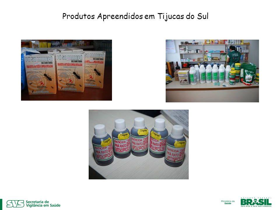 Produtos Apreendidos em Tijucas do Sul