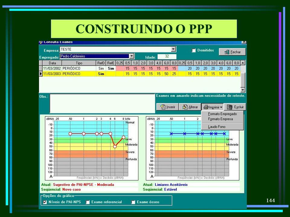 144 CONSTRUINDO O PPP