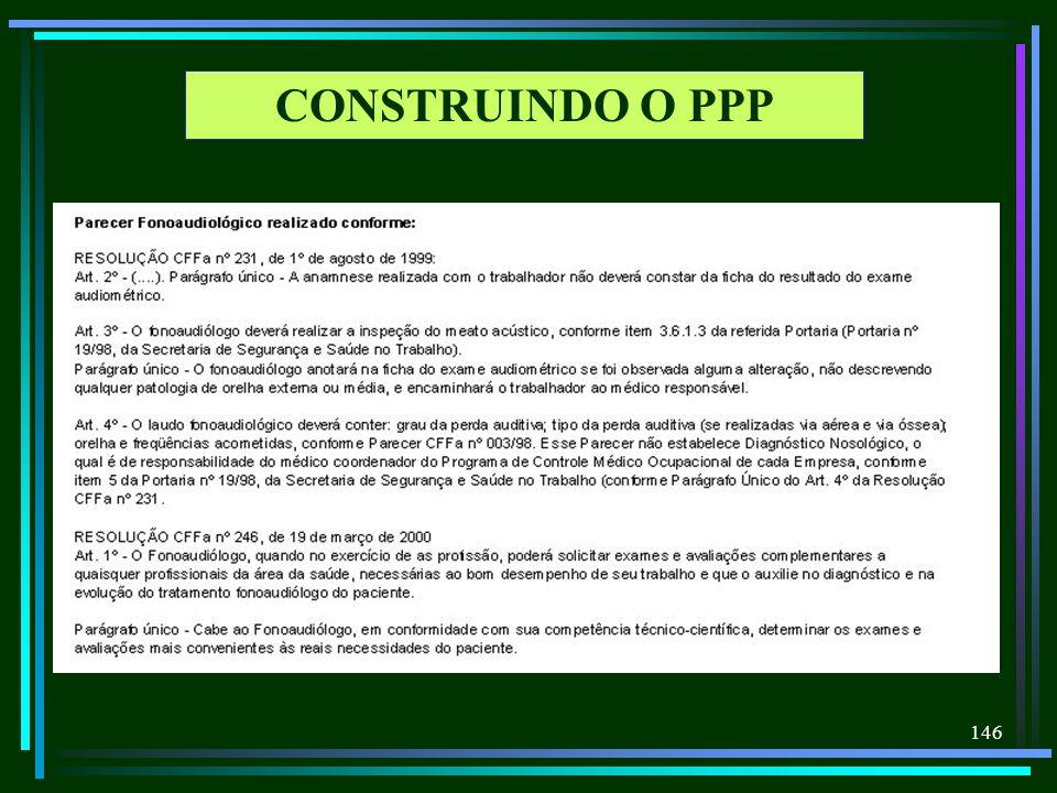 146 CONSTRUINDO O PPP