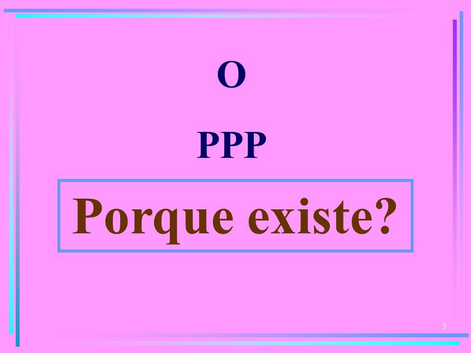 3 O PPP Porque existe?