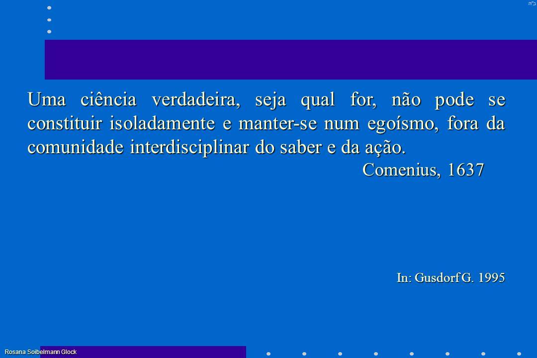 CURRÍCULO = Tratar o problema científico, ao invés das disciplinas.