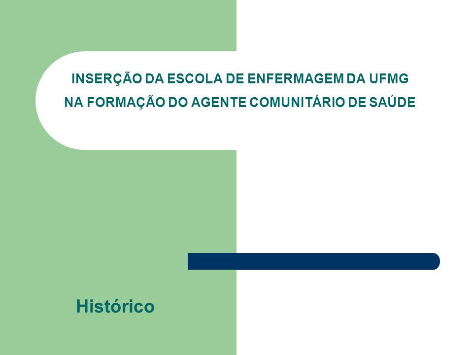COMISSÃO INTERINSTITUCIONAL Centro Formador de Recursos Humanos em Saúde da ESP/MG Escola de Formação Profissional da FHEMIG Escola Técnica de Saúde da UNIMONTES Escola de Enfermagem da UFMG