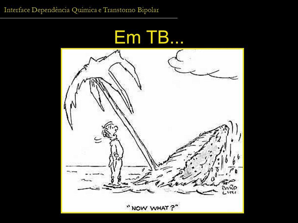 Interface Dependência Química e Transtorno Bipolar Em TB...