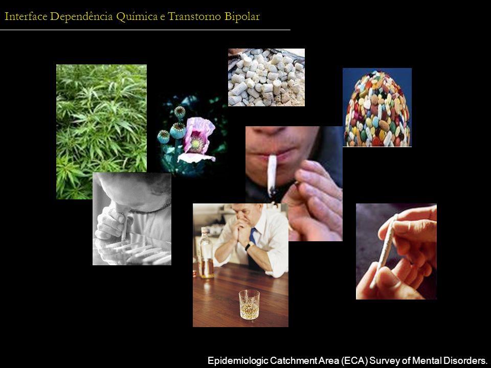 Interface Dependência Química e Transtorno Bipolar Epidemiologic Catchment Area (ECA) Survey of Mental Disorders.