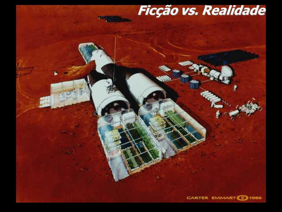Idéias Idéias avançadas Estudos: Lunar Orbital Rendez-vous Estudos: Mars Reference Mission Programa Apollo Programa a Marte Homem na Lua Homem em Marte