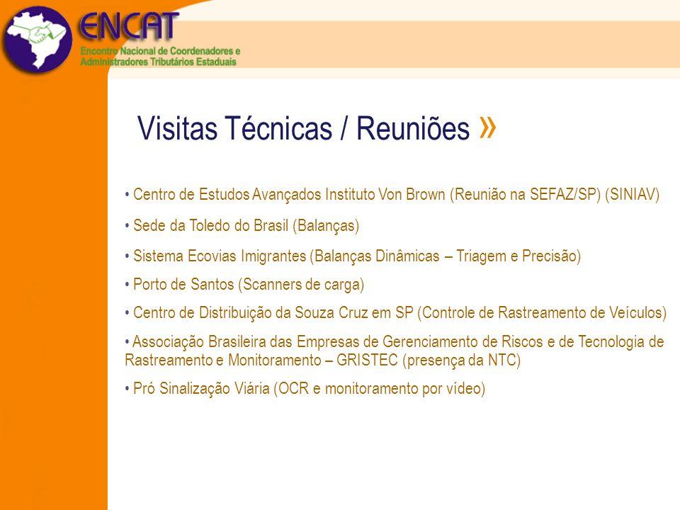 Visitas Técnicas / Reuniões » Centro de Estudos Avançados Instituto Von Brown (Reunião na SEFAZ/SP) (SINIAV) Sede da Toledo do Brasil (Balanças) Siste