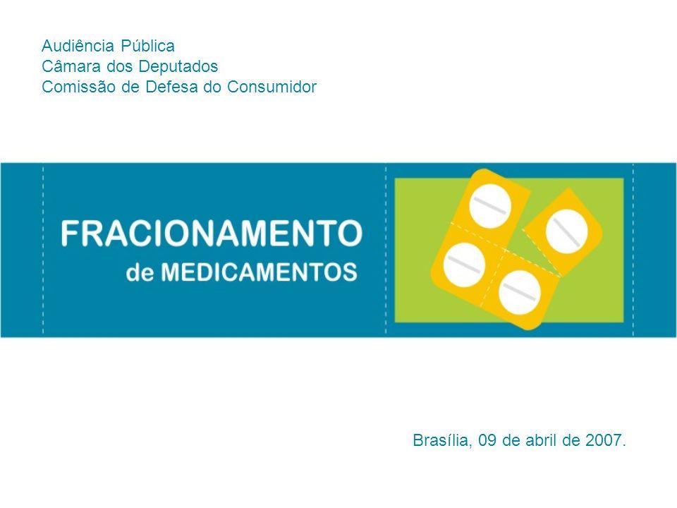 Audiência Pública Câmara dos Deputados Comissão de Defesa do Consumidor Brasília, 09 de abril de 2007.