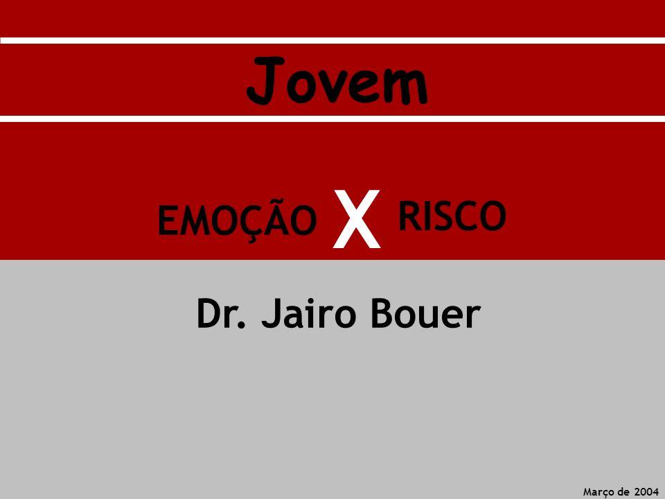 RISCO EMOÇÃO X Março de 2004 Dr. Jairo Bouer Jovem