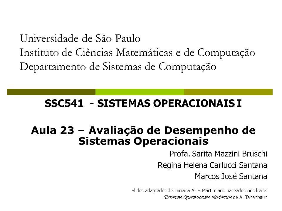 Exemplos de Simuladores para SOs SOSIM - Sistema operacional Simulado Interface gráfica Principais características: gerenciador de processos gerenciador de memória Não simula entrada e saída Sistema de Arquivos Luiz Maia e Ageu Pacheco – NCE/UFRJ 42 Aplicações em SO