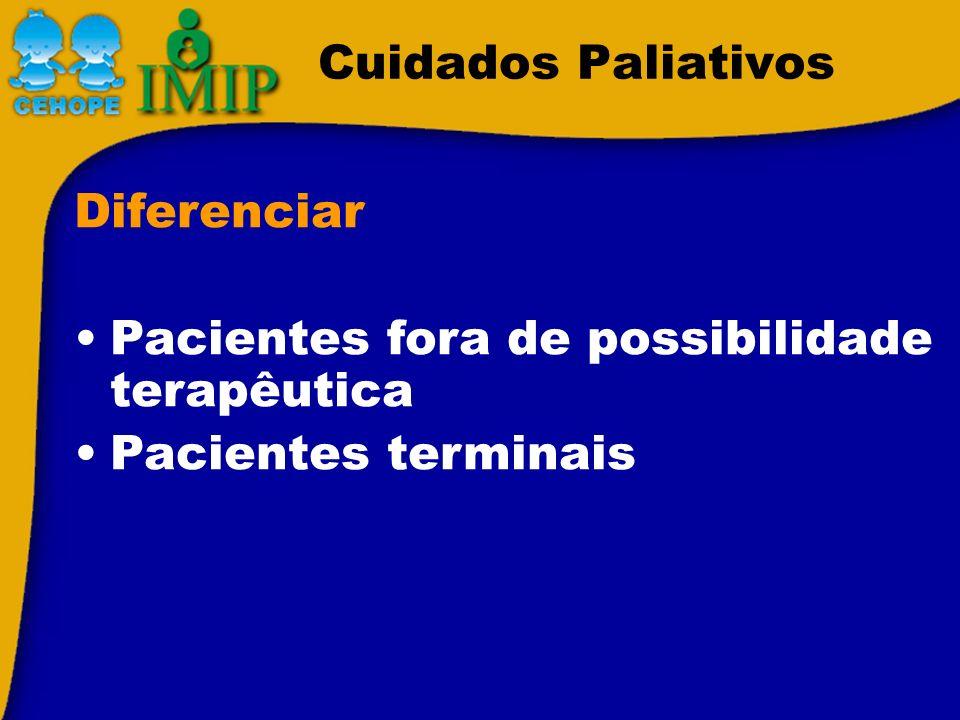 Cuidados Paliativos Fez protocolo quimioterápico 2 x, sem resposta, com progressão da doença.