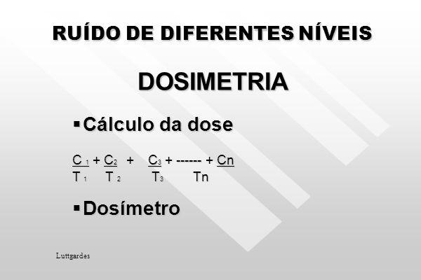 LEITURAS O número de leituras para cada determinação de situação acústica será superior à faixa de variação, em dB, ocorrida durante as mesmas. O núme