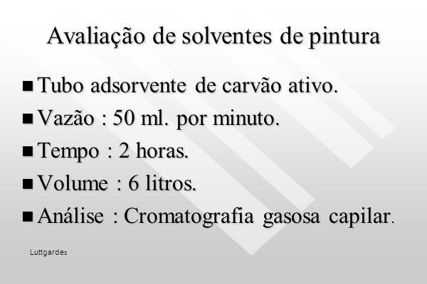 Avaliação de Fumos Metálicos Membrana de éster de celulose de 0,8 micrômetros de porosidade. Membrana de éster de celulose de 0,8 micrômetros de poros