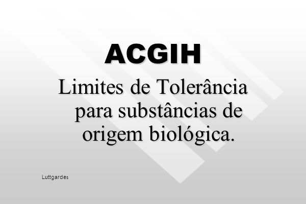 Agentes Biológicos Atualmente, os protocolos de amostragem de ar para agentes infecciosos são limitados e estão disponíveis apenas para trabalho de pe