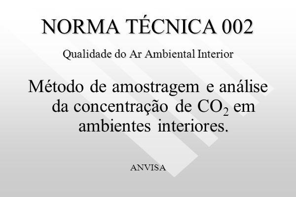 NORMA TÉCNICA 001 Qualidade do Ar Ambiental Interior Método de amostragem e análise de Bioaerosol em Ambientes Interiores. Monitoramento de fungos. Lu