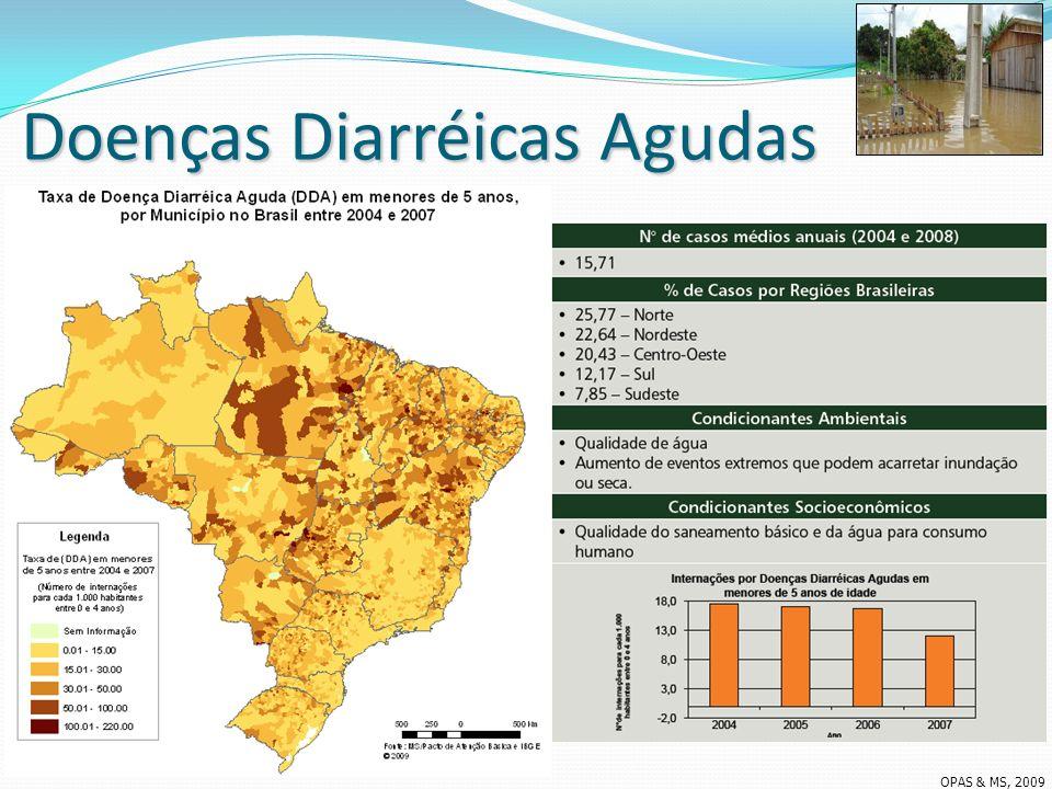 Doenças Diarréicas Agudas OPAS & MS, 2009