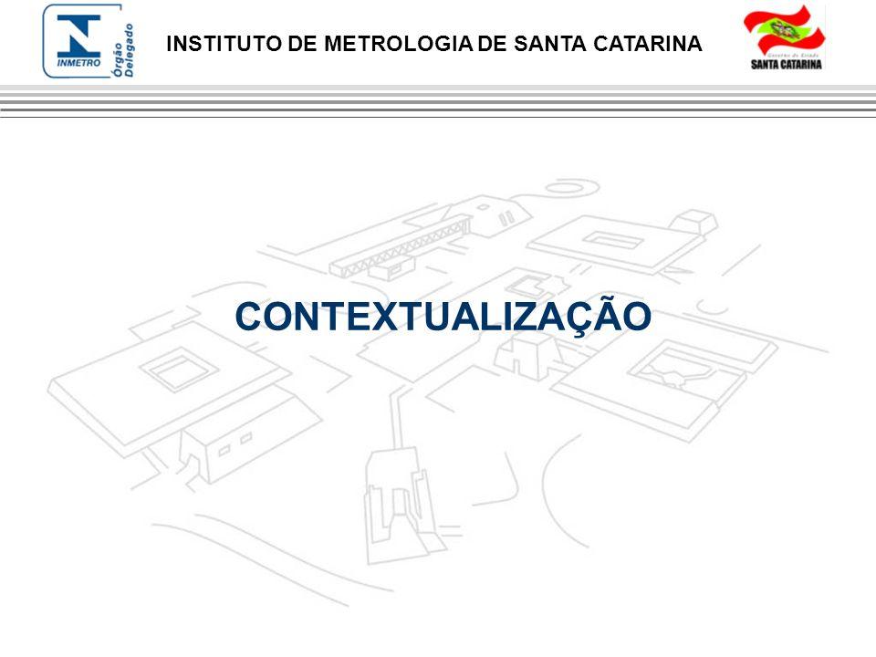INSTITUTO DE METROLOGIA DE SANTA CATARINA CONTEXTUALIZAÇÃO