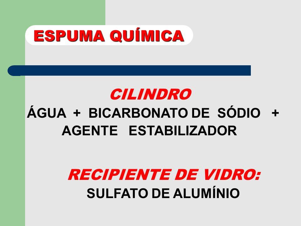 EXTINTOR DE ESPUMA QUÍMICA