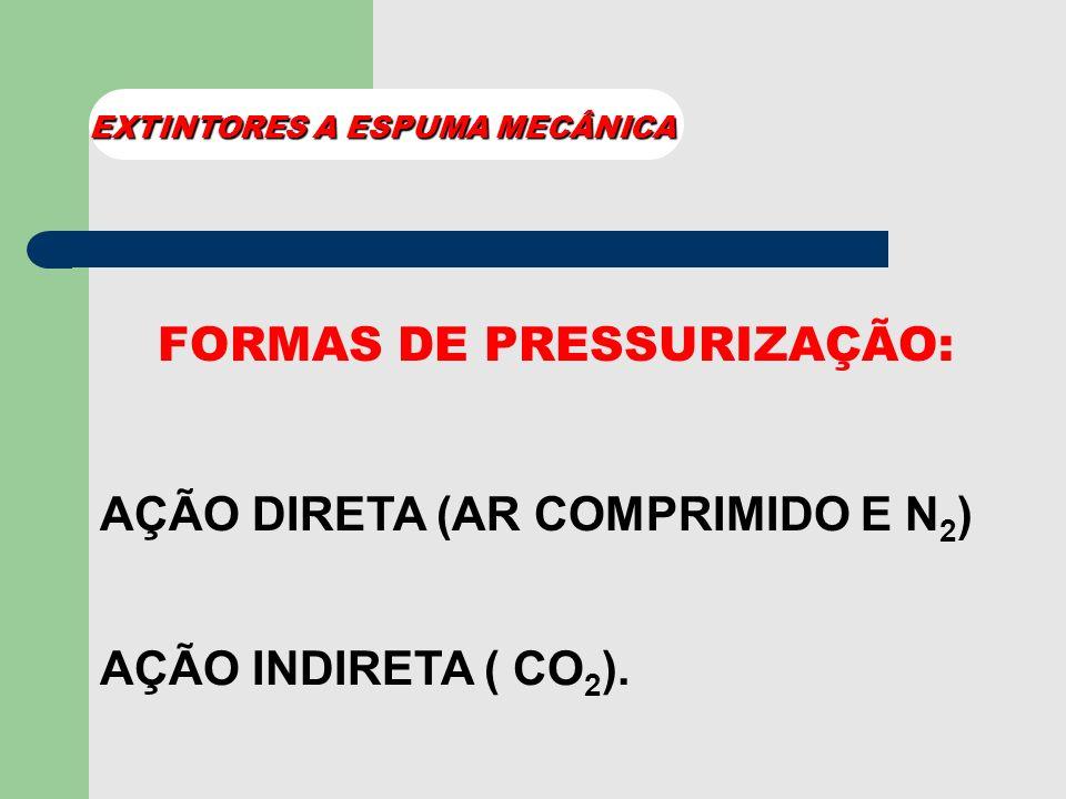 CILINDRO DE AÇO INOXIDÁVEL PROPELENTE NITROGÊNIO (N 2 ) AR COMPRIMIDO GÁS CARBÔNICO (CO 2 )
