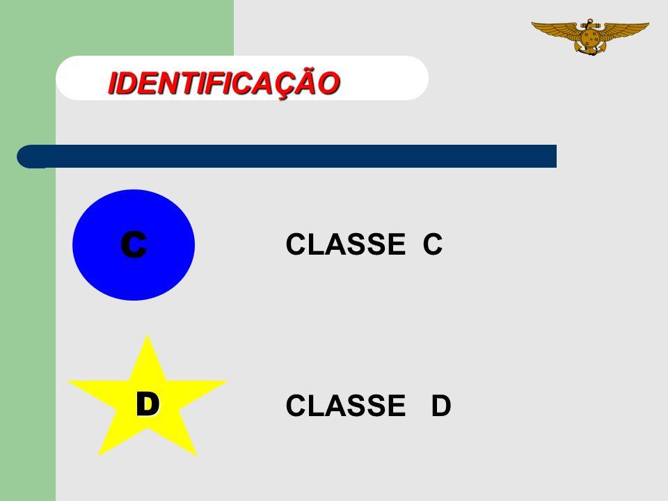 C CLASSE C D CLASSE D IDENTIFICAÇÃO
