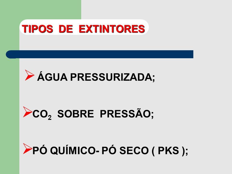 - EXTINGUE POR ABAFAMENTO SECUNDARIAMENTE RESFRIAMENTO PELA BAIXA TEMPERATURA DE DESCARGA EXTINTORES A CO 2