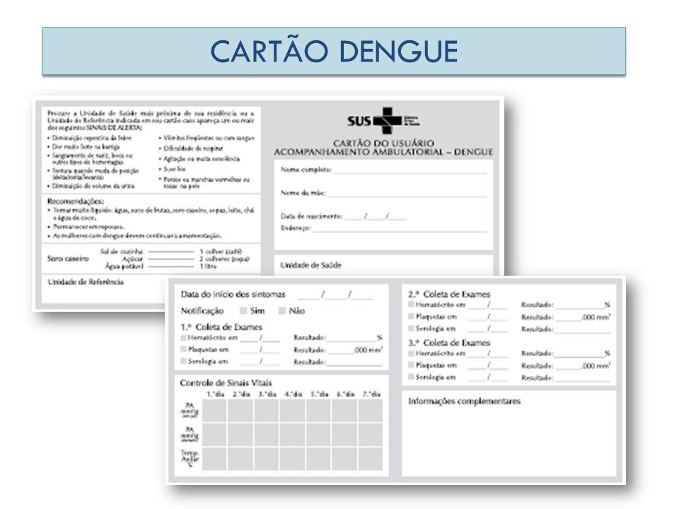 CARTÃO DENGUE