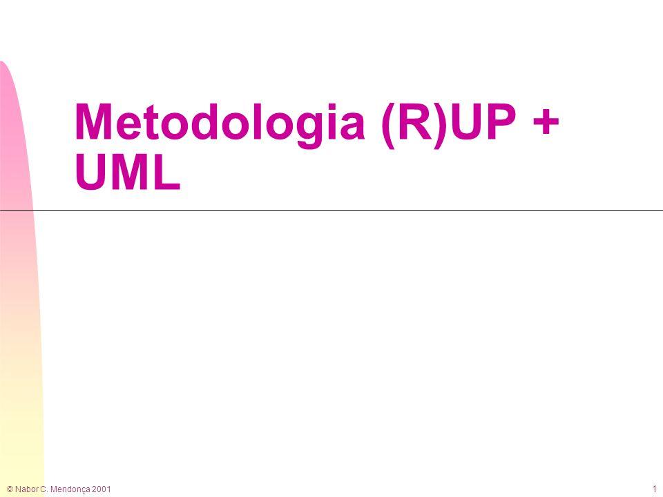 © Nabor C. Mendonça 2001 1 Metodologia (R)UP + UML