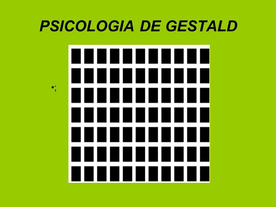 PSICOLOGIA DE GESTALD ;