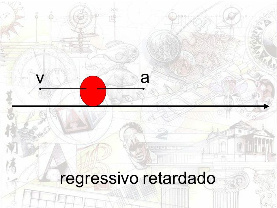 v a regressivo retardado