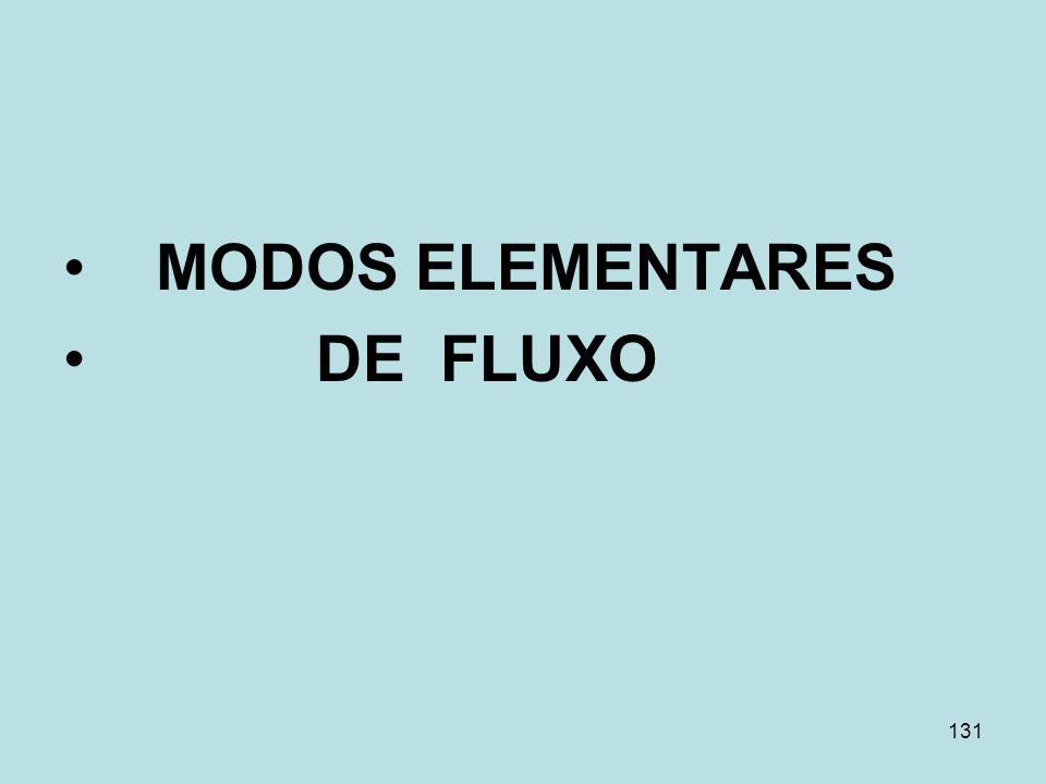 131 MODOS ELEMENTARES DE FLUXO