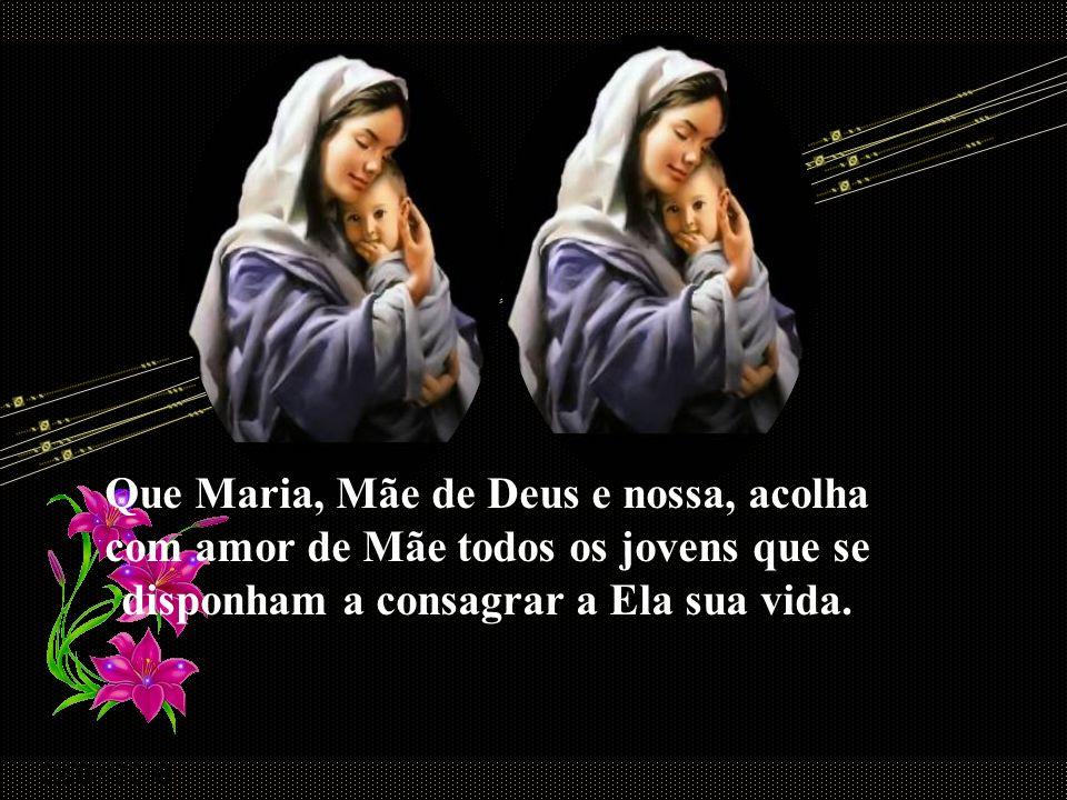 Quando rezamos a Maria, dizemos, com ela, sim ao plano de Deus. Como o discípulo bem-amado, acolhemos, em nosso coração, a Mãe de Jesus, que se tornou