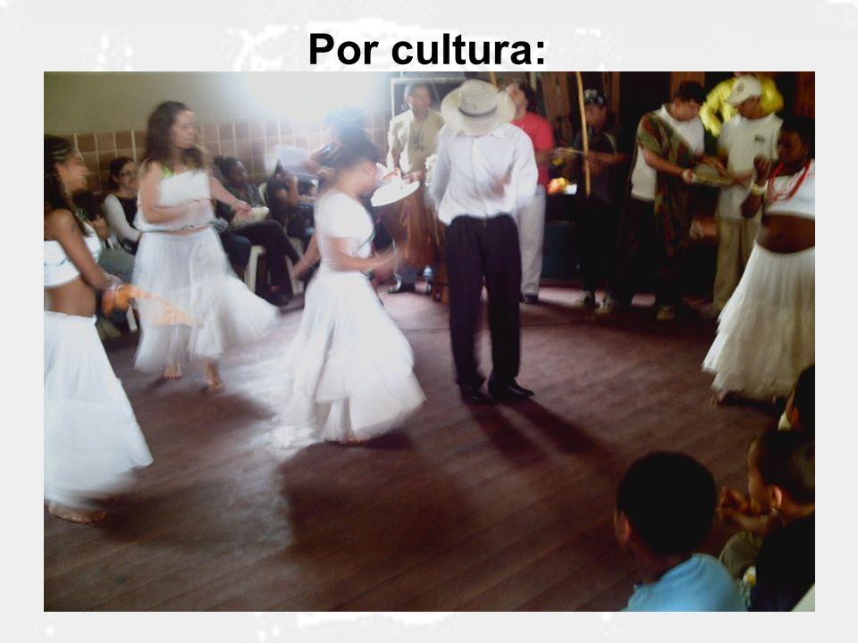 Por cultura: