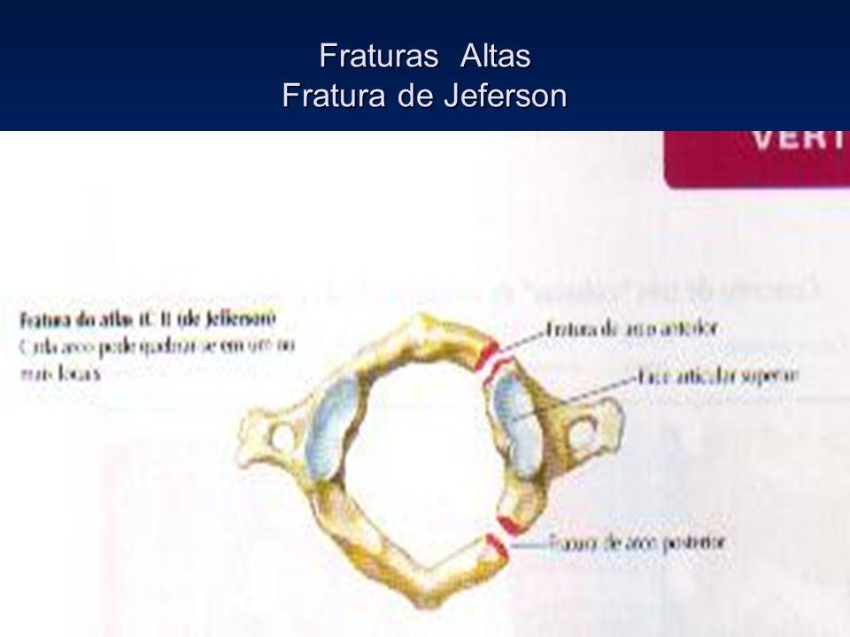 Fraturas Altas Fratura de Jeferson
