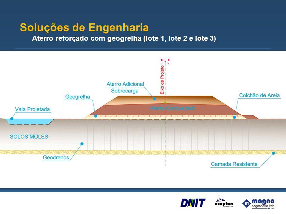 Rodovia em elevada (lote 3) Soluções de Engenharia