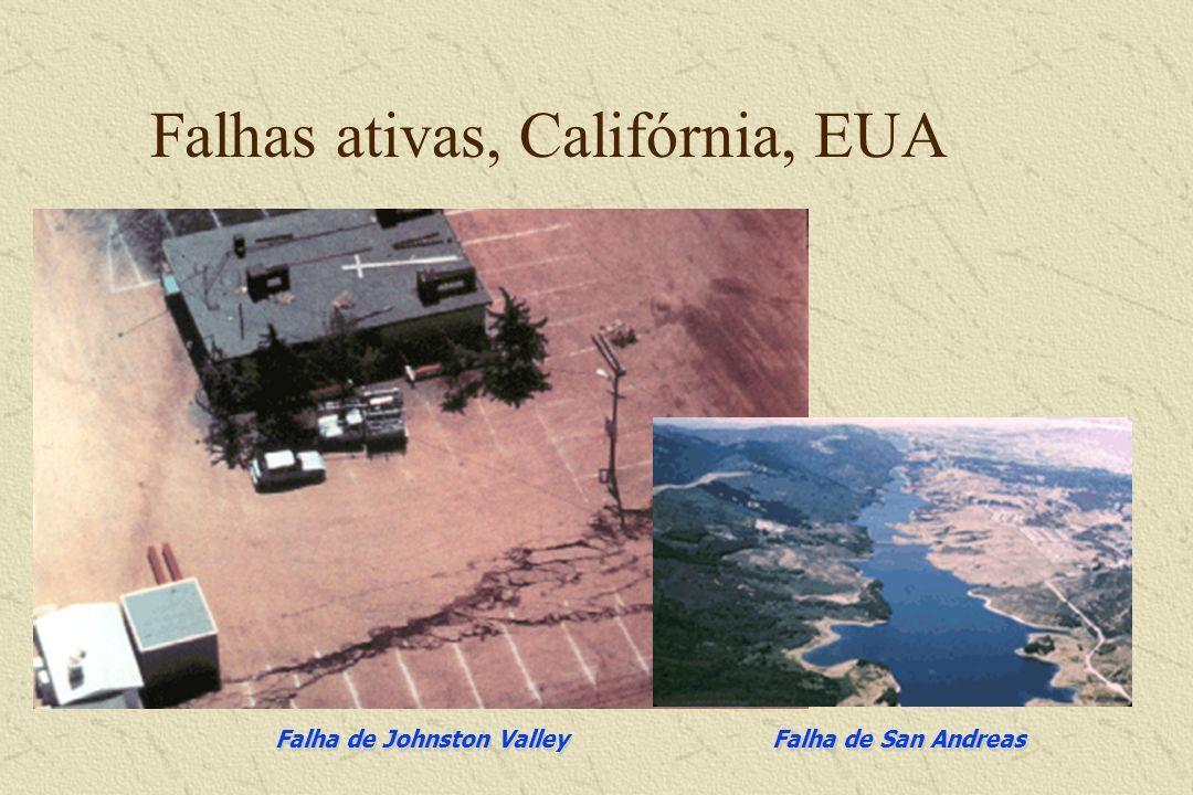 Falha de San Andreas, Califórnia, EUA Terremoto de 1906
