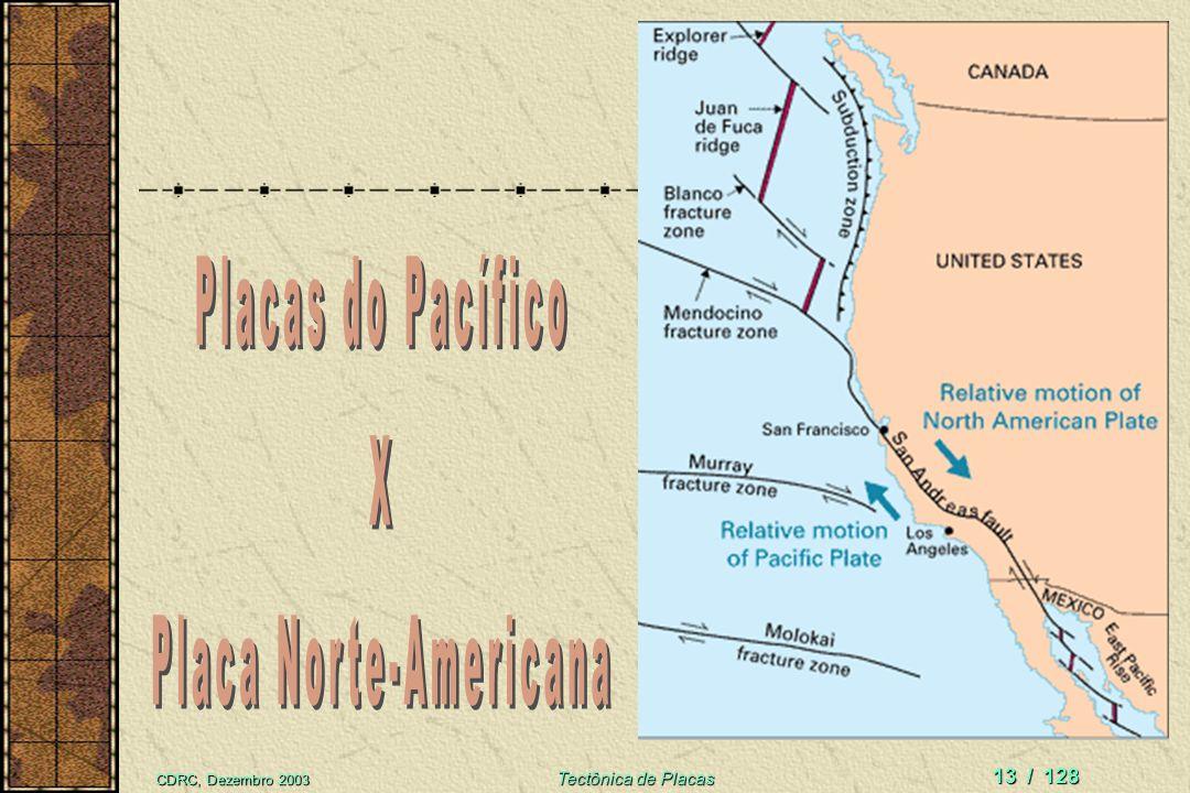 CDRC, Dezembro 2003 Tectônica de Placas 12 / 128 Plano de falha recente com estrias
