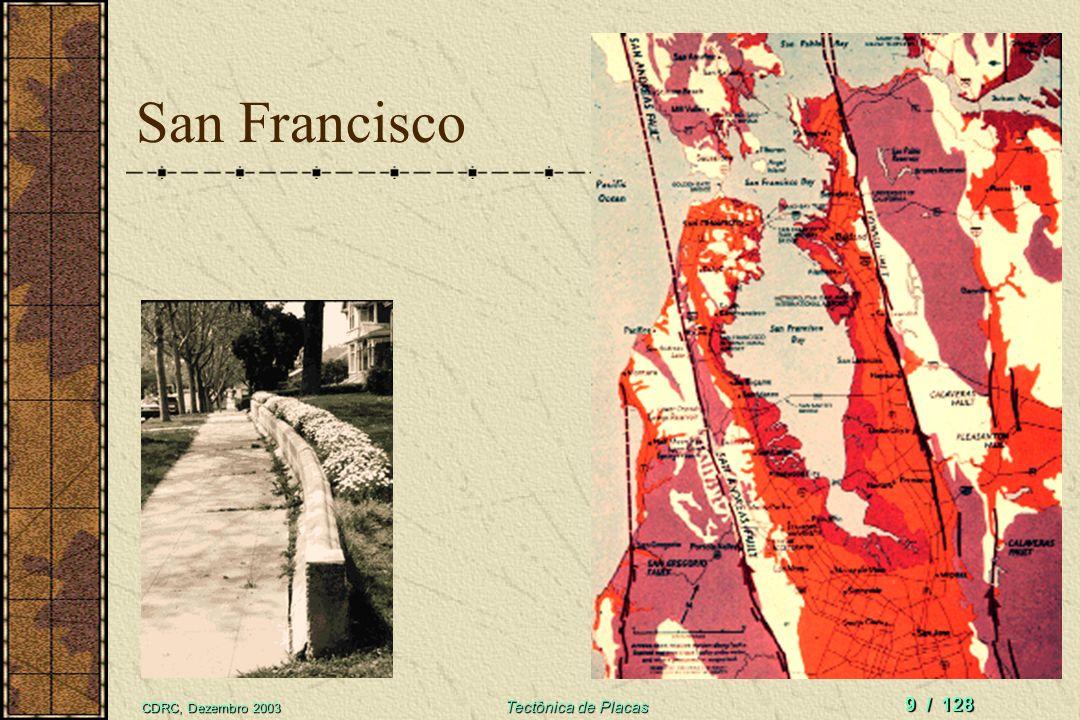 CDRC, Dezembro 2003 Tectônica de Placas 9 / 128 San Francisco