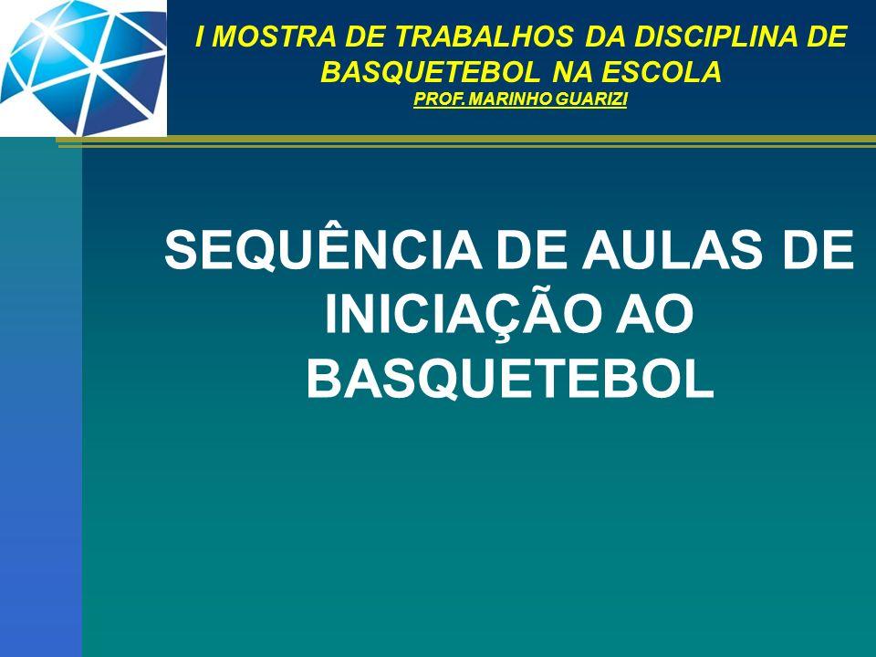 I MOSTRA DE TRABALHOS DA DISCIPLINA DE BASQUETEBOL NA ESCOLA Bandeja com uma das Mãos: Com entrada pelo lado direito da tabela (cesta).