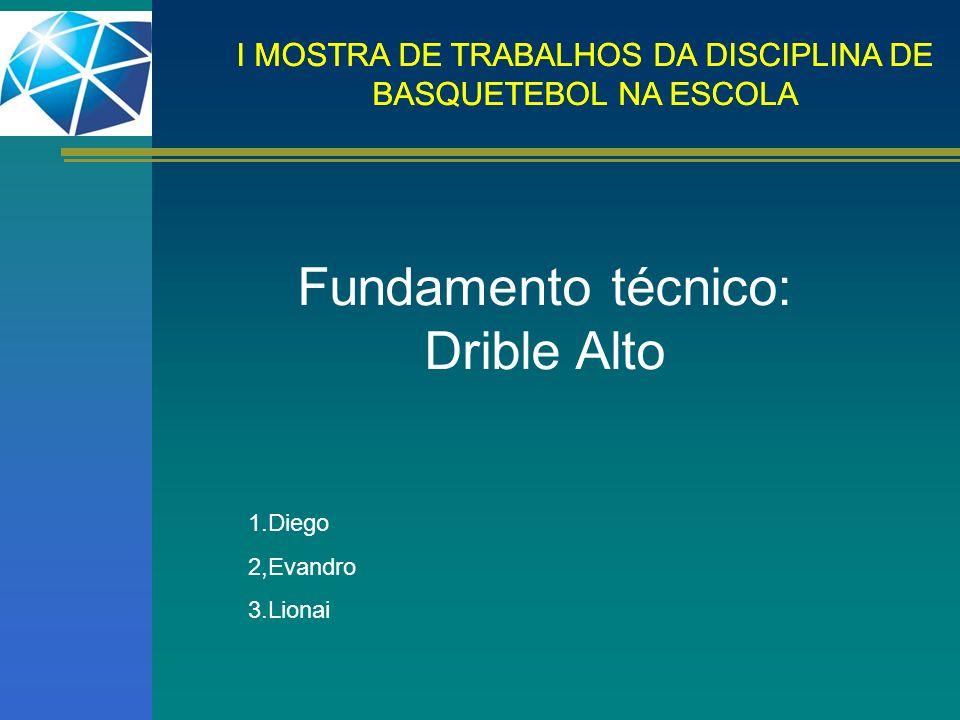 I MOSTRA DE TRABALHOS DA DISCIPLINA DE BASQUETEBOL NA ESCOLA Posição de Expectativa ou de Marcação.