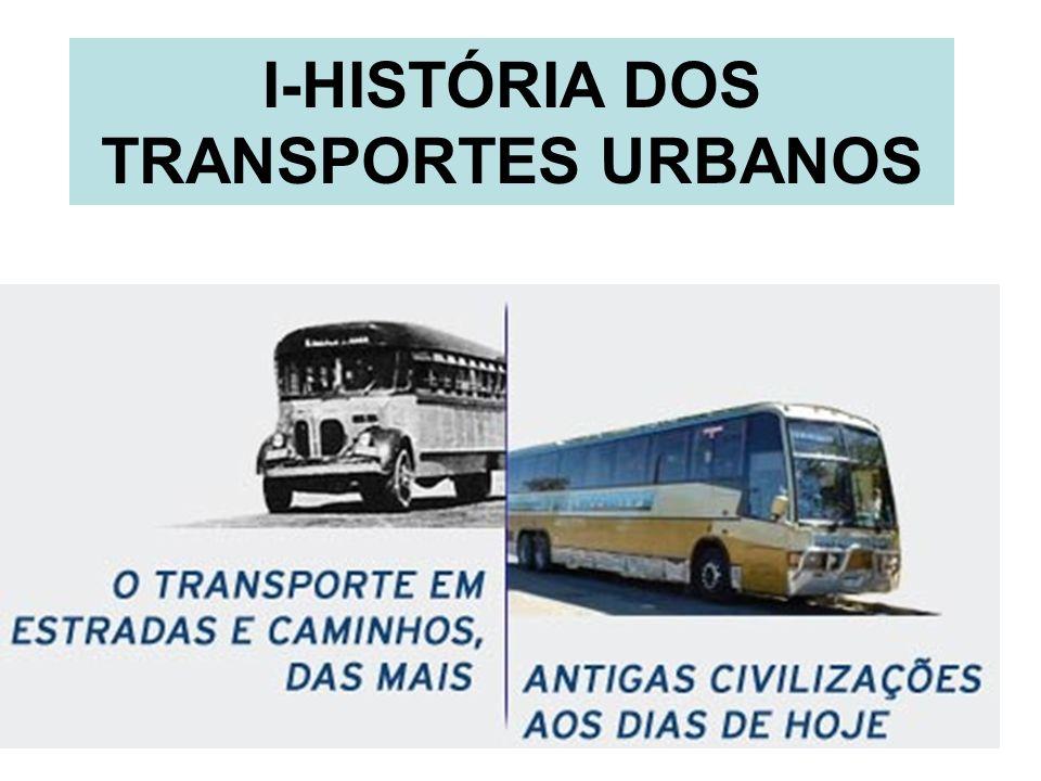 1 I-HISTÓRIA DOS TRANSPORTES URBANOS