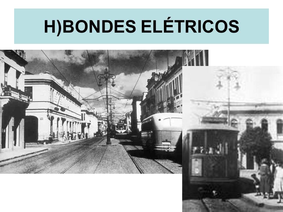 17 H)BONDES ELÉTRICOS