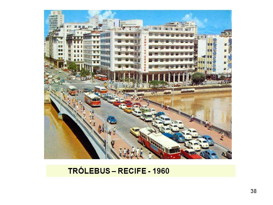 38 TRÓLEBUS – RECIFE - 1960