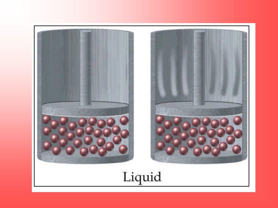 Sob uma mesma pressão e temperatura, gases diferentes possuem densidades diferentes.