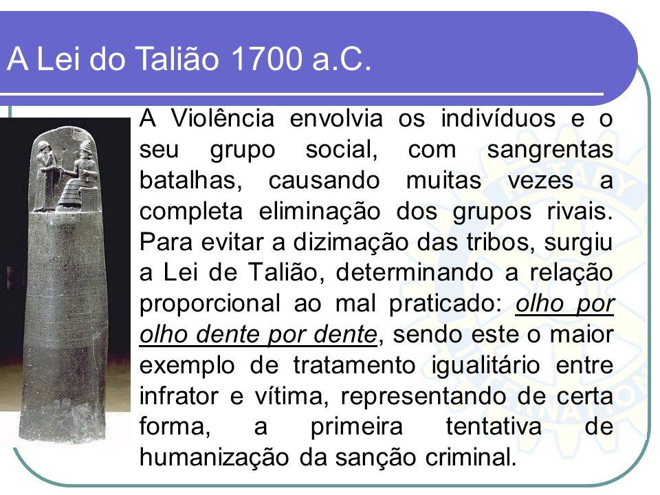 A Violência envolvia os indivíduos e o seu grupo social, com sangrentas batalhas, causando muitas vezes a completa eliminação dos grupos rivais. Para