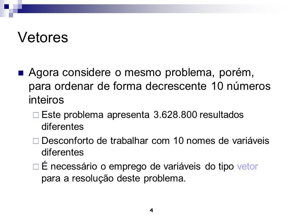 Vetores Programação em Java Prof. Maurício Braga