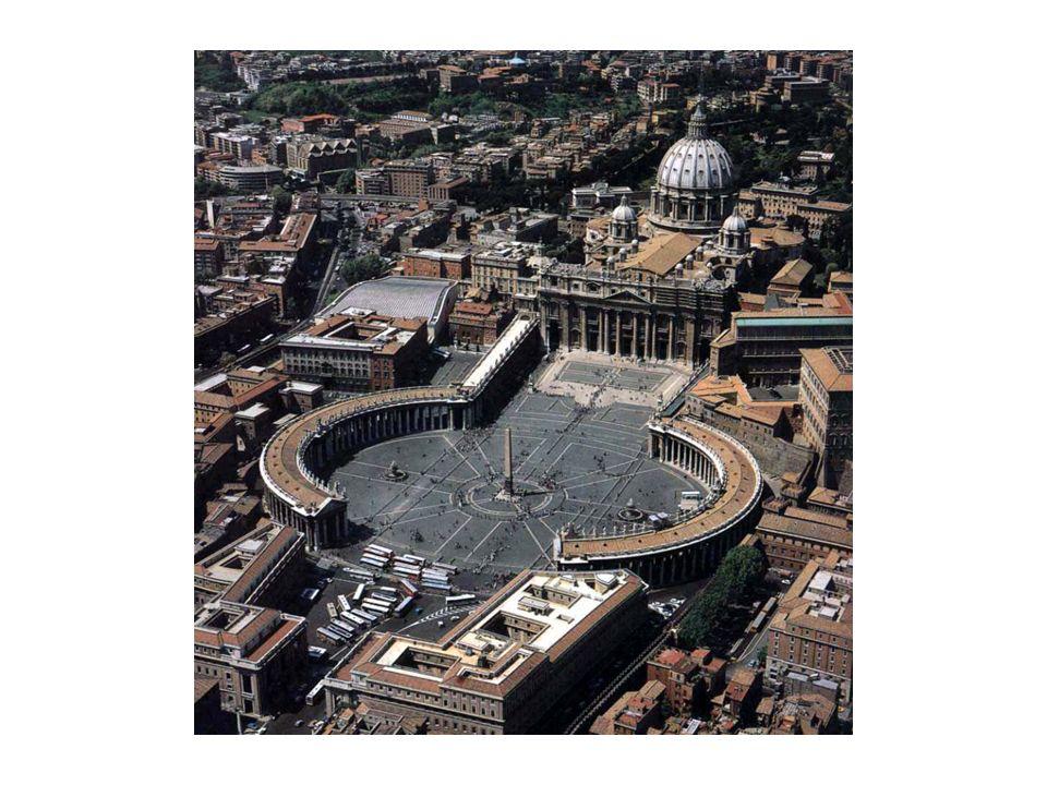 A Basílica de São Pedro, na época de Pedro era um humílimo oratório subterrâneo.