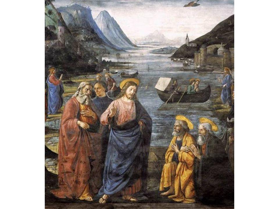 Jesus chegou a Cafarnaum, às margens do Lago Tiberíades ou Mar da Galiléia, onde aconteceu o episódio da pesca milagrosa..