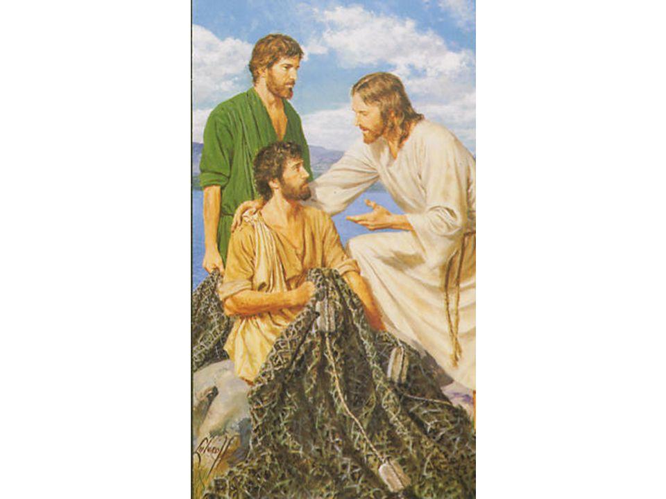 O APÓSTOLO ANDRÉ, mudara-se para Cafarnaum, onde já morava Pedro, seu irmão.
