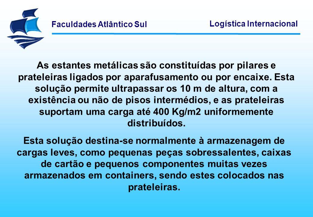 Faculdades Atlântico Sul Logística Internacional Armazenagem Automática
