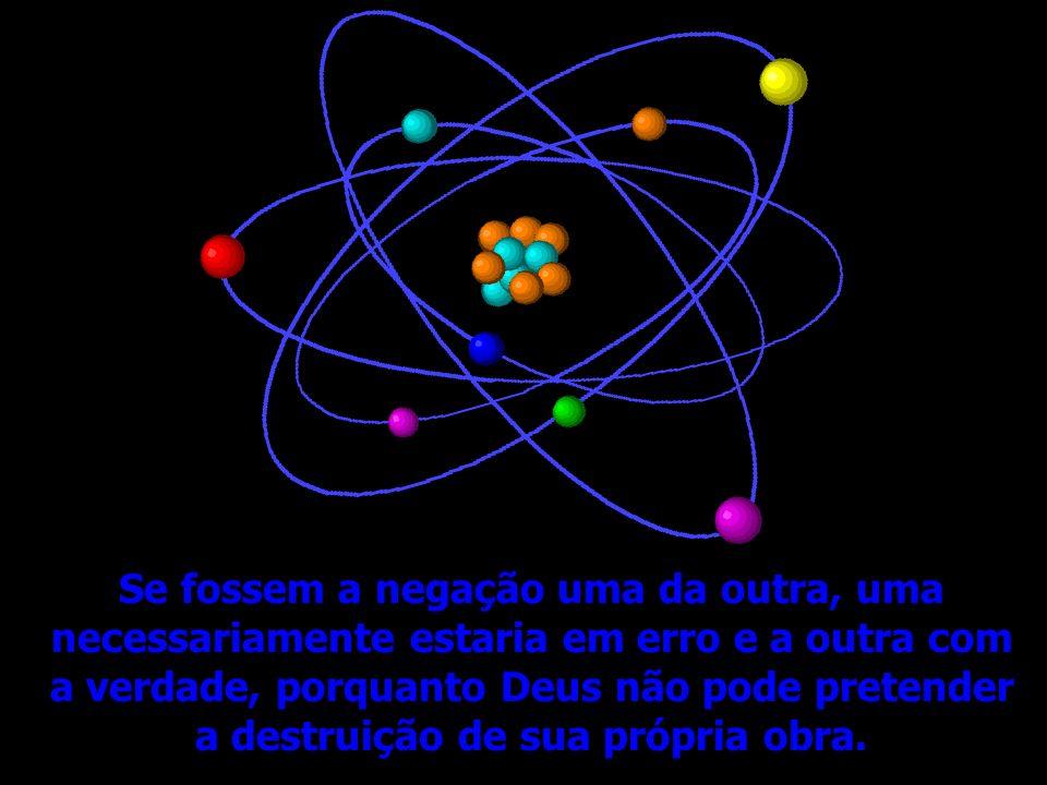 A Ciência e a Religião são as duas alavancas da inteligência humana: uma revela as leis do mundo material e a outra as do mundo moral. Tendo, no entan